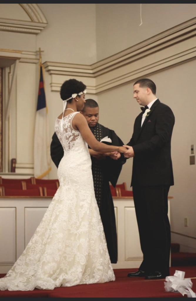 Wedding photo husband and wife